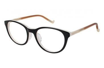 Visions 212A Eyeglass Frames - Frame Black/Pink, Size 50/19mm VIVISION212A01