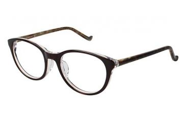 Visions 212A Eyeglass Frames - Frame Brown, Size 50/19mm VIVISION212A02
