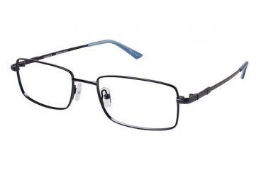 Visions 215 Eyegl Frames Frame Matte Navy Size 53 18mm Vivision21501