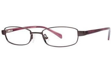Visions 143 Bifocal Prescription Eyeglasses - Frame BURGUNDY/PEARL, Size 48/17mm VIVISION14302