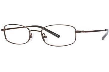 Visions 151 Bifocal Prescription Eyeglasses - Frame Brown, Size 47/18mm VIVISION15101