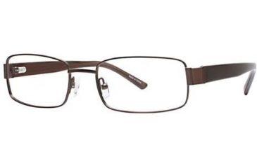 Visions 160 Bifocal Prescription Eyeglasses - Frame Brown, Size 53/18mm VIVISION16001
