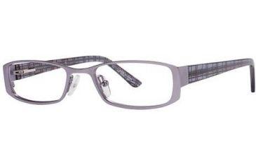 Visions 171 Eyeglass Frames - Frame Lilac/Plaid, Size 48/17mm VIVISION17101