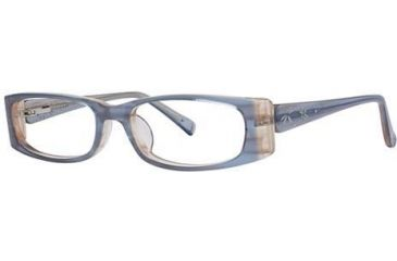 Visions 172 Bifocal Prescription Eyeglasses - Frame Blue/Silver, Size 50/16mm VIVISION17203