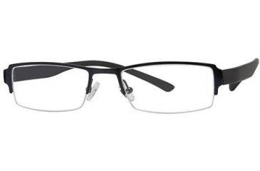 Visions 182 Eyeglass Frames - Frame Blue/Black, Size 50/18mm VIVISION18201