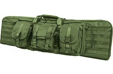 VISM Double Carbine Case/Green/36 In CVDC2946G-36