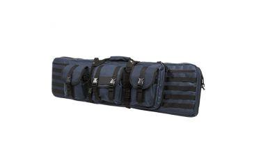 VISM Double Carbine Gun Case, Blue w/ Black Trim, 42in CVDC2946BL-42
