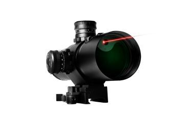 Vism 4X50 CBT Series Red Laser Prismatic Riflescope - P4 Sniper Reticle VCBTRP450G