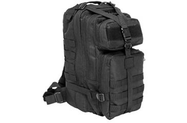 VISM Small Back Pack, Black CBSB2949