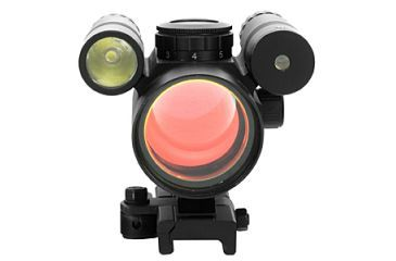 Vism Vdflgq142 Green Laser Led Flashlight Combo Sight With Quick Release Mount Red Dot