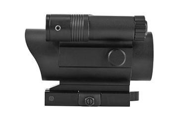 Vism Vdflgq142 Green Laser Led Flashlight Combo Sight With Quick Release Mount Side