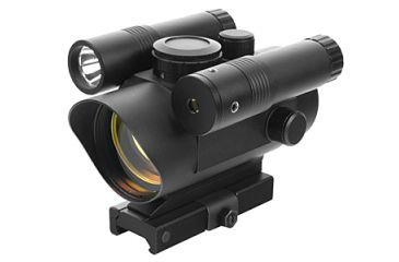 Vism Vdflgq142 Green Laser Led Flashlight Combo Sight With Quick Release Mount