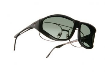 Vistana Black Frame XL Gray Polare Lens Sunglasses W202G