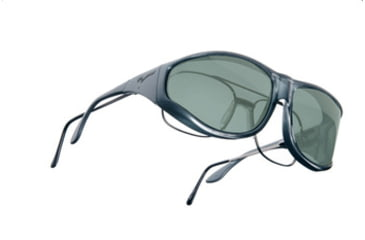 Vistana Steel Frame XL Gray Polare Lens Sunglasses W204G