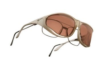 Vistana Mica Frame XL Copper Polare Lens Sunglasses W205C