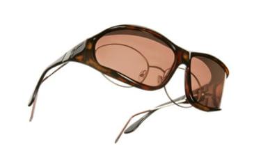 Vistana Tort Frame L Copper Polare Lens Sunglasses W303C