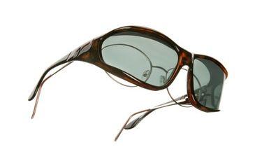 Vistana Tort Frame L Gray Polare Lens Sunglasses W303G