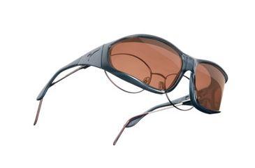 Vistana Steel Frame L Copper Polare Lens Sunglasses W304C