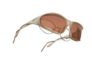 Vistana Mica Frame L Copper Polare Lens Sunglasses W305C