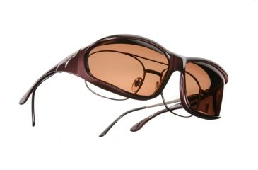 Vistana Burgundy Frame L Copper Polare Lens Sunglasses W309C