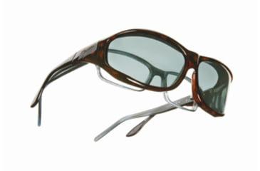 Vistana Tort Frame M Gray Polare Lens Sunglasses W403G