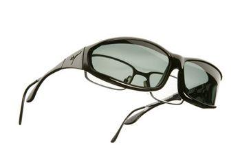 Vistana Black Frame MS Gray Polare Lens Sunglasses W412G