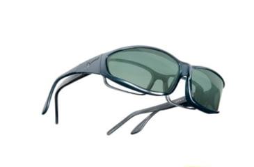 Vistana Steel Frame MS Gray Polare Lens Sunglasses W414G