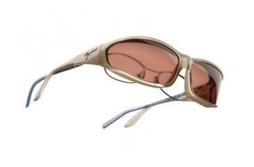 Vistana Mica Frame MS Copper Polare Lens Sunglasses W415C