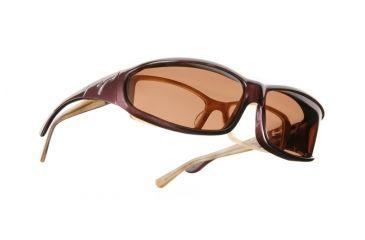 Vistana Burgundy Frame MS Copper Polare Lens Sunglasses W419C