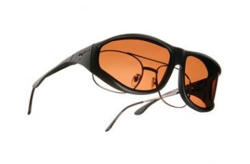 Vistana Soft Black Frame XL Copper Polare Lens Sunglasses WS202C