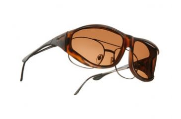 Vistana Soft Touch Tort Frame XL Copper Polare Lens Sunglasses WS203C