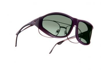 Vistana Soft Touch Violet Frame XL Gray Polare Lens Sunglasses WS206G
