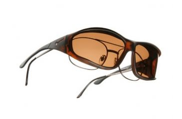 Vistana Soft Touch Tort Frame L Copper Polare Lens Sunglasses WS303C