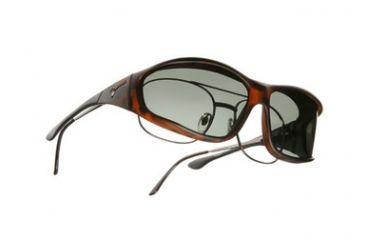 Vistana Soft Touch Tort Frame L Gray Polare Lens Sunglasses WS303G