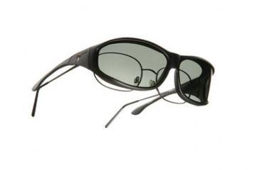 Vistana Soft Black Frame M Gray Polare Lens Sunglasses WS402G