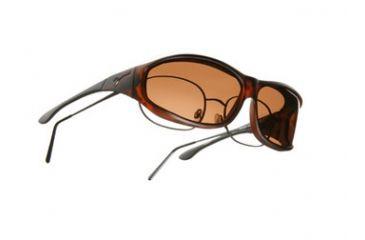 Vistana Soft Touch Tort Frame M Copper Polare Lens Sunglasses WS403C