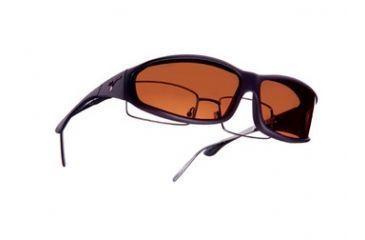 Vistana Soft Touch Violet Frame MS Copper Polare Lens Sunglasses WS416C