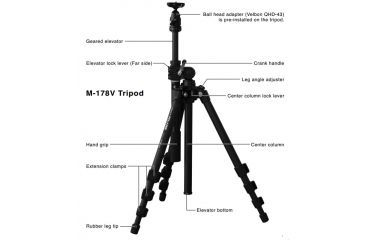 Vixen Polarie Star Tracker Astrophotography Mount and Tripod 35505P1