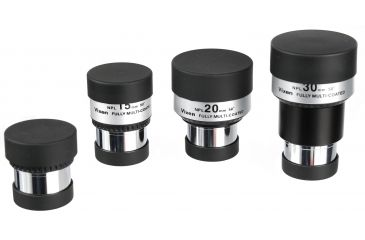 Vixen NPL Eyepieces with included lens caps