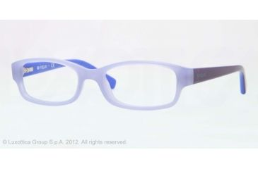 Vogue BABY 84 VO2812 Progressive Prescription Eyeglasses 2108-46 - Opal Violet Frame, Demo Lens Lenses