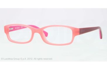 Vogue BABY 84 VO2812 Progressive Prescription Eyeglasses 2110-46 - Opal Pink Frame, Demo Lens Lenses