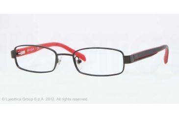 Vogue BABY 85 VO3866 Single Vision Prescription Eyeglasses 352S-46 - Matte Black Frame, Demo Lens Lenses