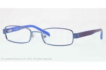 Vogue BABY 85 VO3866 Single Vision Prescription Eyeglasses 877-46 - Blue Frame, Demo Lens Lenses