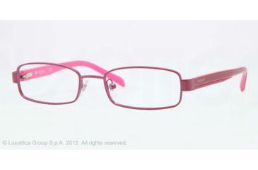 Vogue BABY 85 VO3866 Single Vision Prescription Eyeglasses 931-46 - Violet Frame, Demo Lens Lenses