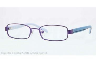 Vogue BABY 85 VO3866 Single Vision Prescription Eyeglasses 932S-46 - Matte Violet Frame, Demo Lens Lenses