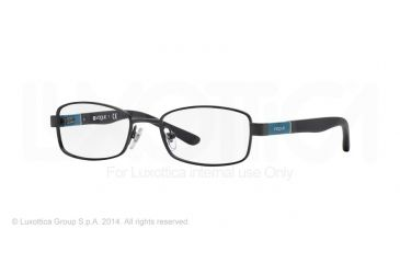 Vogue BABY 88 VO3926 Progressive Prescription Eyeglasses 352S-46 - Matte Black Frame