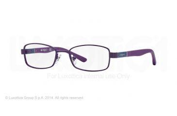 Vogue BABY 88 VO3926 Progressive Prescription Eyeglasses 897S-46 - Matte Metallized Violet Frame