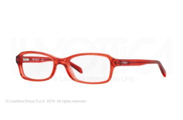Vogue BABY86 VO2882 Eyeglass Frames 2111-46 - Red Transparent Frame