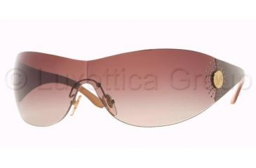 Vogue VO 2518SB Sunglasses Styles - Top Brown/Light Brown Brown Gradient Frame, 143713-0138