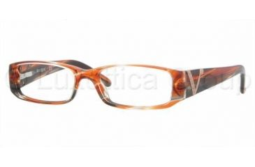Vogue VO 2590 Eyeglasses Styles Brown/Orange Frame w/Non-Rx 51 mm Diameter Lenses, 1696-5115